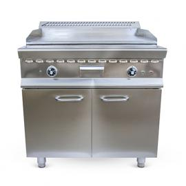 Gas Fry top  smooth w/closed cupboard (90)