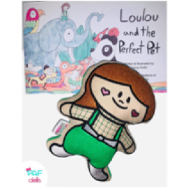 Loulou & the Perfect Pet Story & Doll