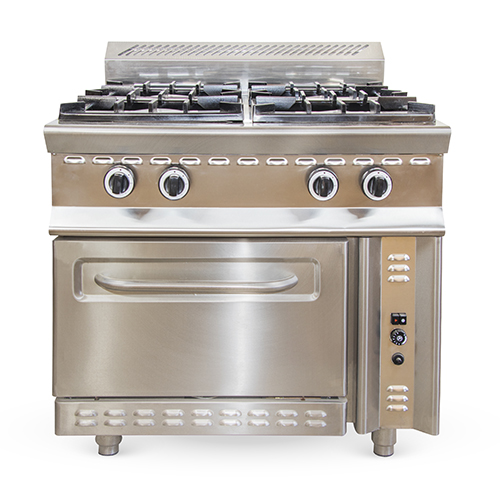Gas cooker 4 burner with oven
